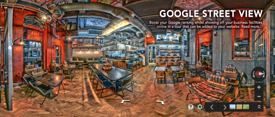Business View, Virtual Tour, Panorama Photography, 360 degree photos, Leeds, Google, West Yorkshire,