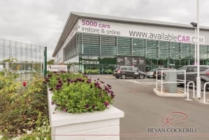 Available Car Showroom Virtual Tour and Commercial Photography