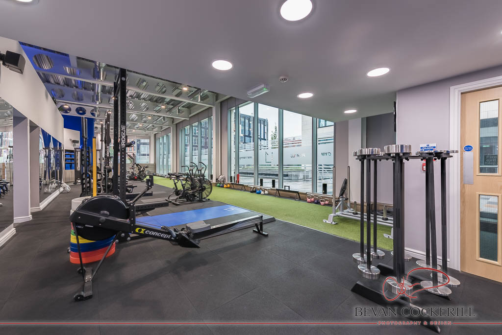 L1 performance leeds gym commercial photography and virtual tour