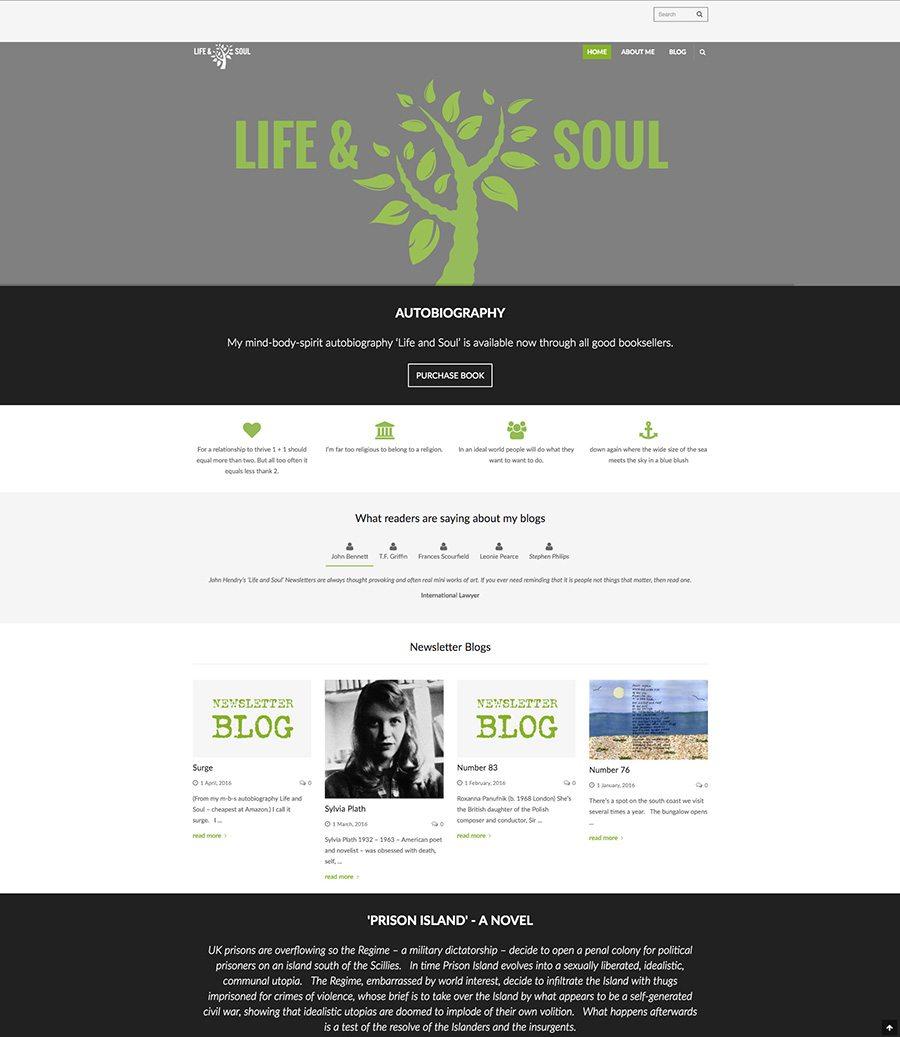 John Hendry Website