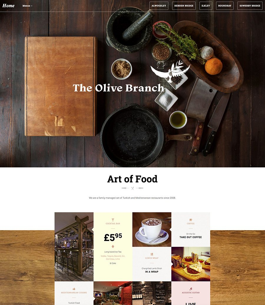 Olive Branch Website