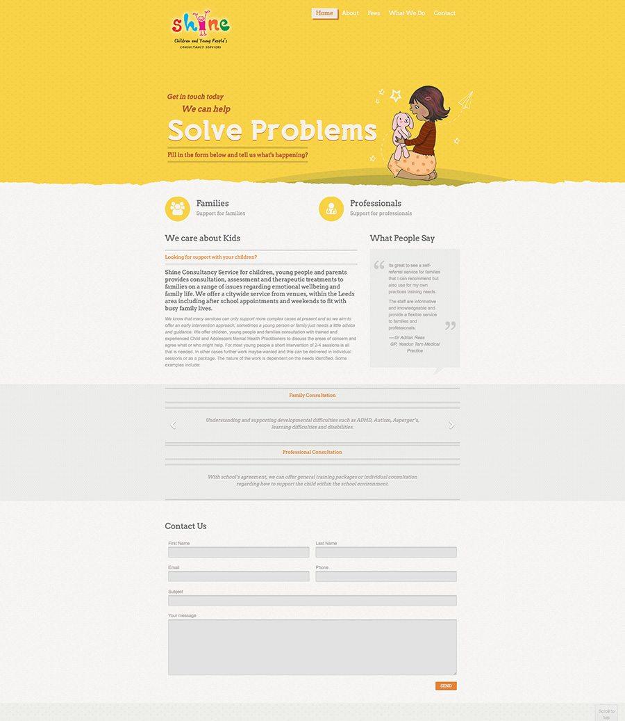 Shine Website