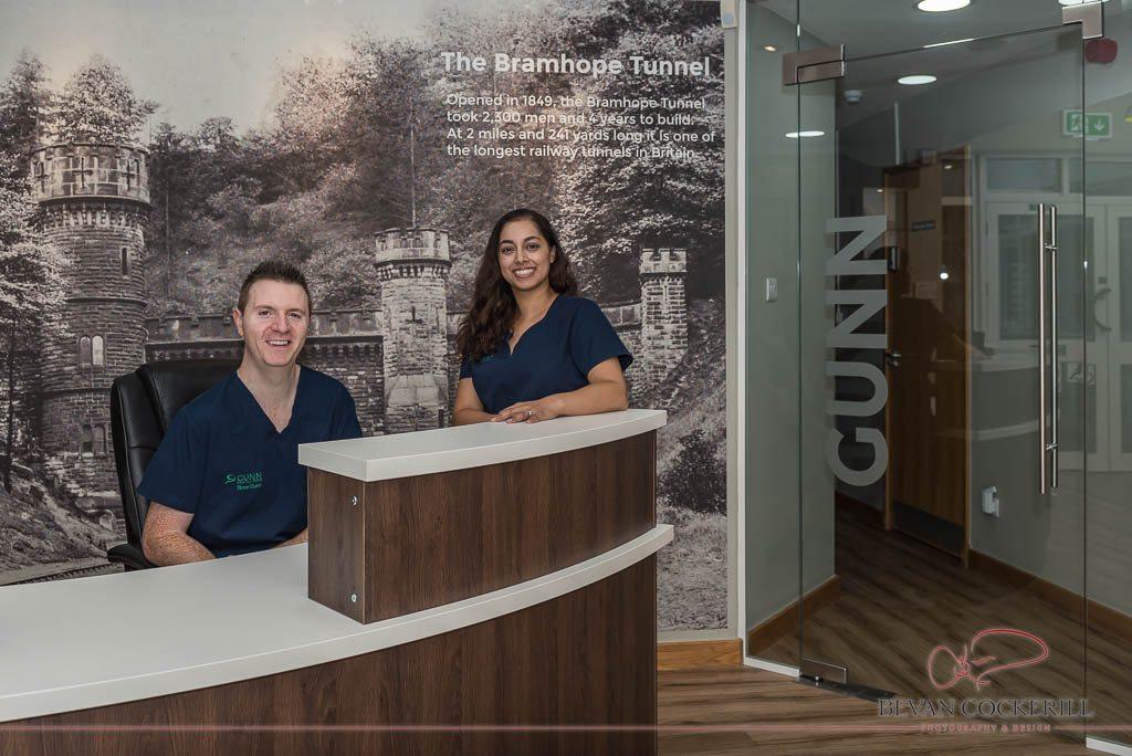 Gunn Dental Care, Team Portrait, Portrait Photography, Bramhope, Leeds,