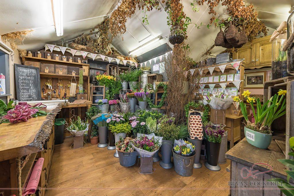 Heavenly Harvests, Commercial Photography, Bevan Cockerill, Interior Photography, Flower Shop, Florist, Hipperholme, Halifax