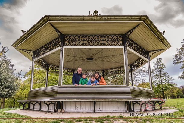 Tao & Derek, Roundhay Park, Pre-Wedding Shoot, Pre-Wedding, Family Portrait, Bandstand, Leeds, Wedding Photography, Bevan Cockerill