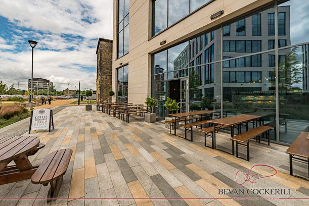 Cafe, Commercial Photography, Exterior Photography, Leeds, Restaurant, Sociable Folk, Shop Front, Tower Square, Wellington Place
